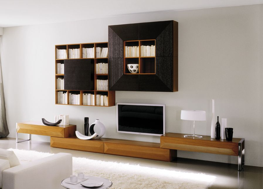 Мебель для гостиной стенки горки