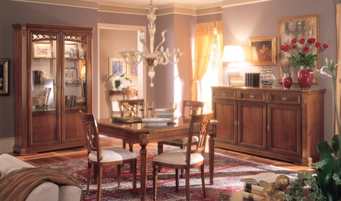 мебели для гостиной в классическом стиле