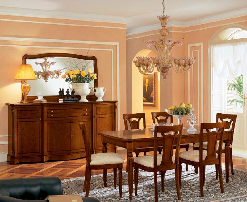 итальянские обеденные столы в классическом стиле