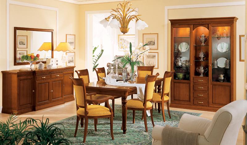 обеденные столы и стулья италия