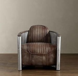 винтажное кресло авиатор на заказ