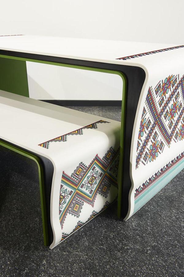 мебель из corian