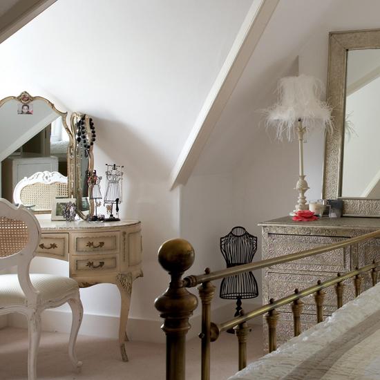 спальня в стиле Одри Хепберн
