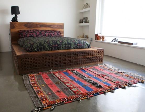 кровать в китайском стиле