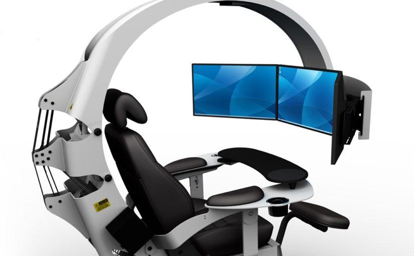 Идеальный эргономичный компьютерный стол