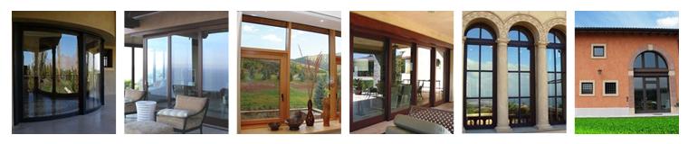 Раздвижные системы дверей из стекла