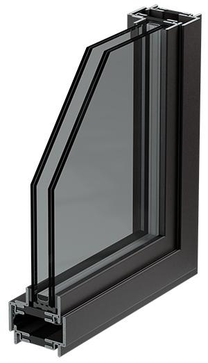 окна с литым металлическим профилем