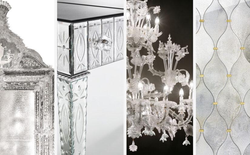Arte Veneziana архитектурное стекло - литые бордюры молдинги литые стеклянные рамы